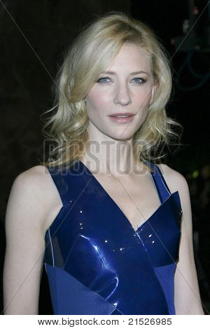 PALM SPRINGS - JAN 6: Cate Blanchett at the 18th annual Palm Springs International Film Festival Gala Awards in Palm Springs, California on January 6, 2007