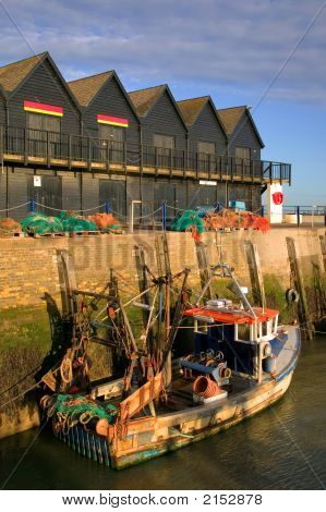 Whitstable Harbour Sunrise.