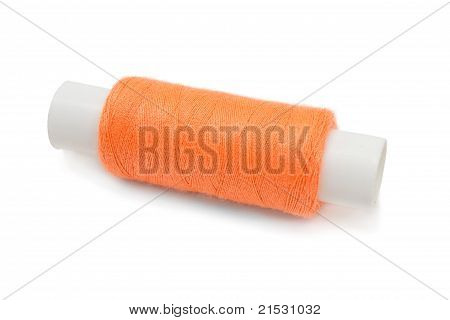 Coil Of Orange Thread
