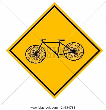 Bicyle Sign Illustration