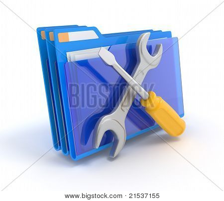 Folder With Tools.