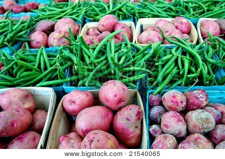 Farm Market Vegetables