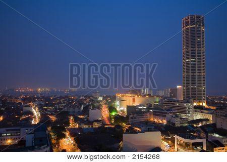 Penang Night Scene