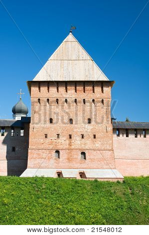 Intercession Tower. Veliky Novgorod, Kremlin Detinets