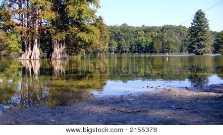 Dried-Up Lake: Virginia Beach
