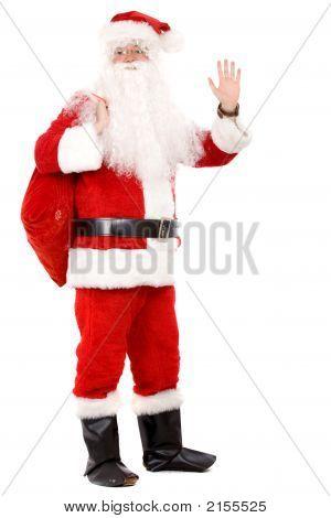 Male Santa Standing