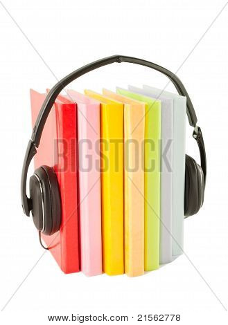 Audiobooks Concept