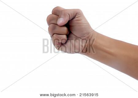 Fist Of A Man