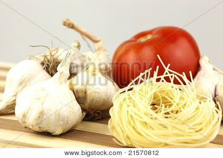 Fresh vegetables, Pasta