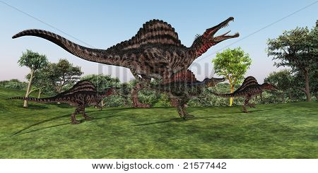 Spinosaurus Mother
