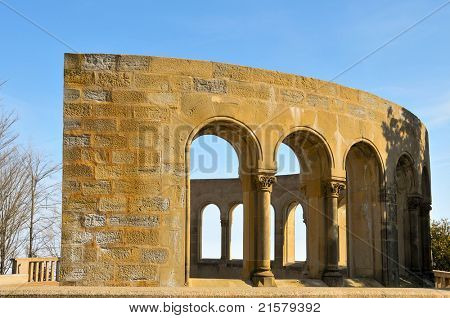 Mirador dels Apostols in Montserrat, Spain