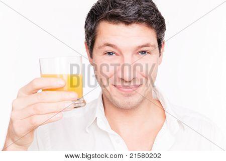 man healhty juice