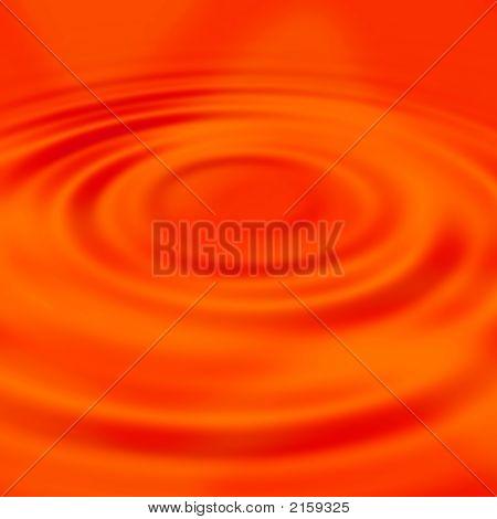 Red Liquid Ripples