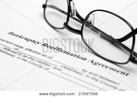 Bankruptsy Agreement