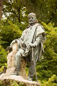 stock photo of swagger  - Monument to the Italian revolutionary and military hero Giuseppe Garibaldi  - JPG