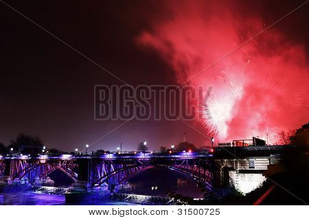 Glasgow firework display