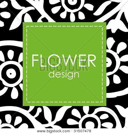 Vector Floral Background