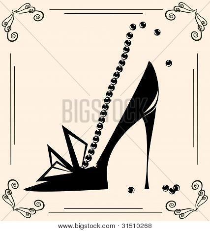 Vintage Woman's Shoe