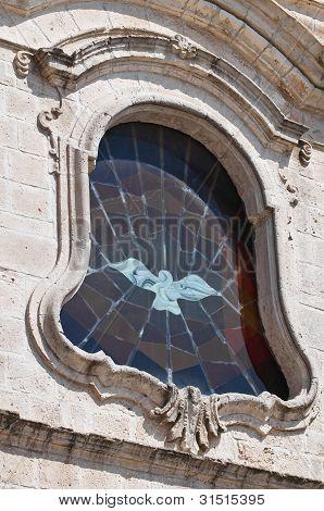 Igreja de St. Cataldo. Cisternino. Puglia. Itália.