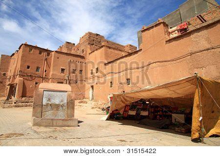 Kasbah courtyard