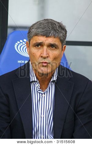 Fc Dnipro's Manager Juande Ramos