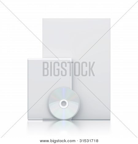 White Package With Cd - Dvd