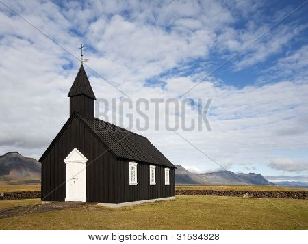 Icelandic Wooden Church