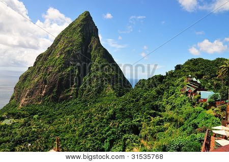 Villas On The Piton Mountains