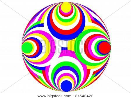 colourful orb