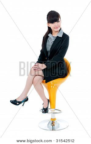 Pretty Young Businesswoman