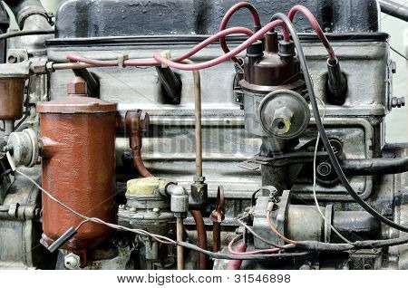 Outdated Petrol Engine