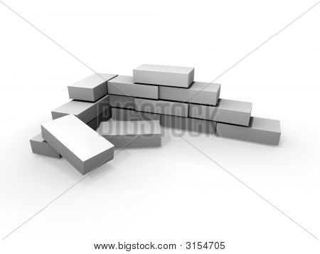 Gray Brick Wall