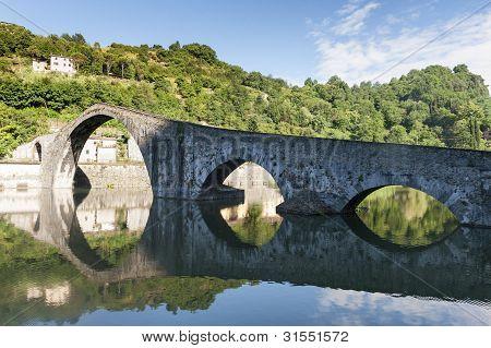 Ponte Della Maddalena (lucca, Toscana)