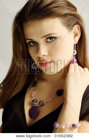 Woman In The Amethyst