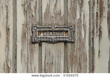 Grungy Letter Box
