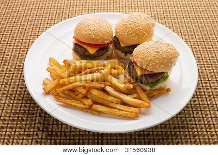 Mini Burger Meal