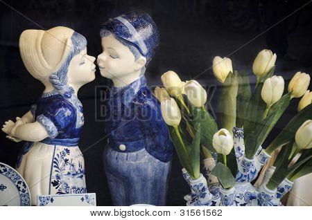 Dutch Farmer couple souvenir