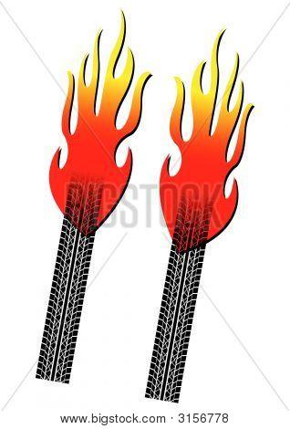 Burnout Tyres