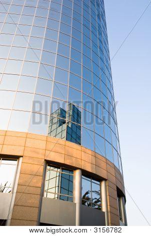 Glass High Rise Building