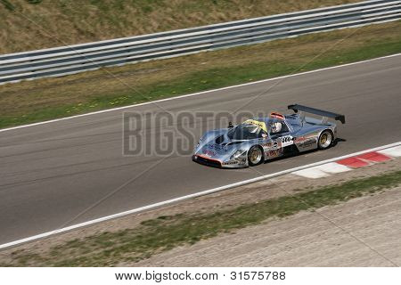 Zandvoort, The Netherlands - 25 april 2011: Ronald Vetters - Dutch Supercar Challenge Race