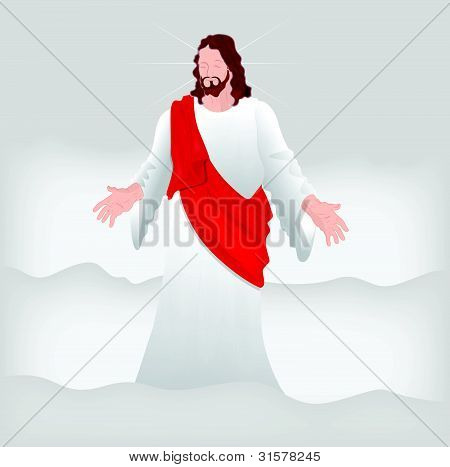 Jesus Christ Vector Art