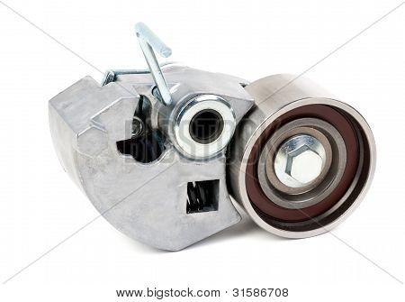 Belt Tensioner For V-ribbed Belt