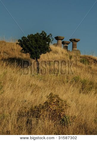 Temple of Athena at Troy