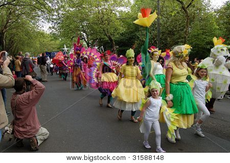 Carnival parade, West end festival, Glasgow