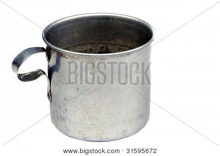 Vintage Tin Mug