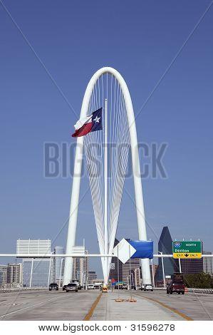 Margaret Hunt Hill Bridge, Dallas, Texas