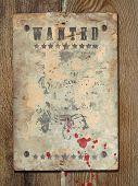 pic of buckaroo  - Wild West styled poster - JPG