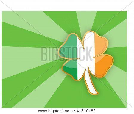 Clover Leaf Element Background
