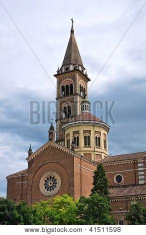 Igreja de Corpus Domini. Piacenza. Emilia-Romagna. Itália.