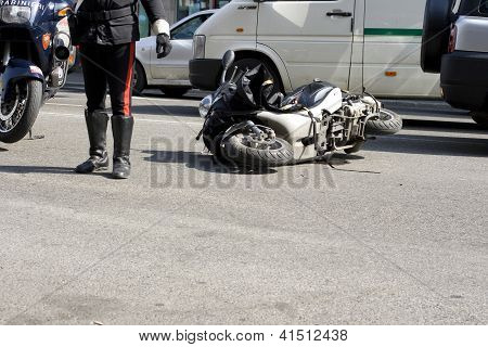 Scooter Crash